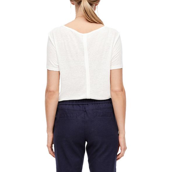 Shirt aus Leinenmix - Leinenmix-Shirt