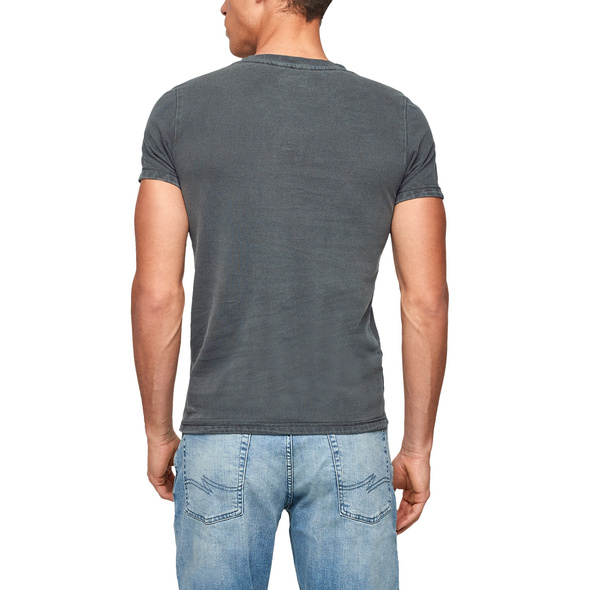 T-Shirt mit Piquéstruktur - Shirt