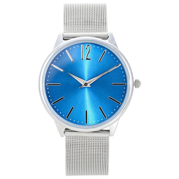 Uhr – Silver Ocean