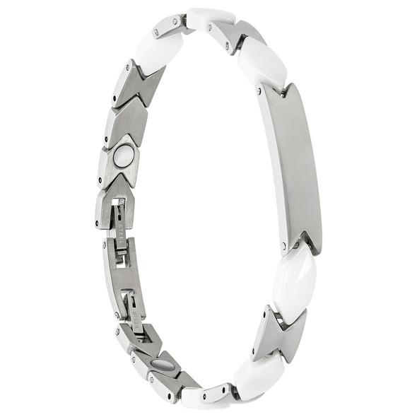 Armband - White Ceramic