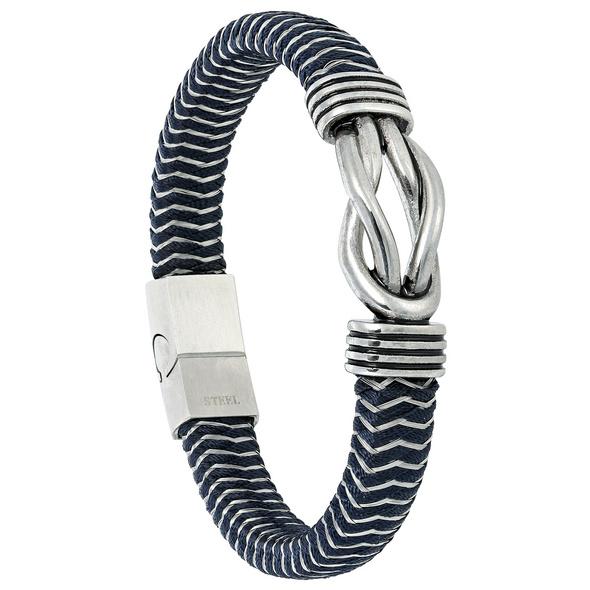 Herren Armband - Blue Steel