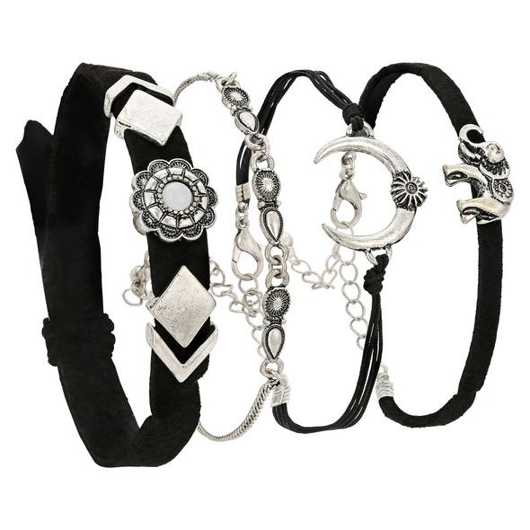 Armband - Lush Silver