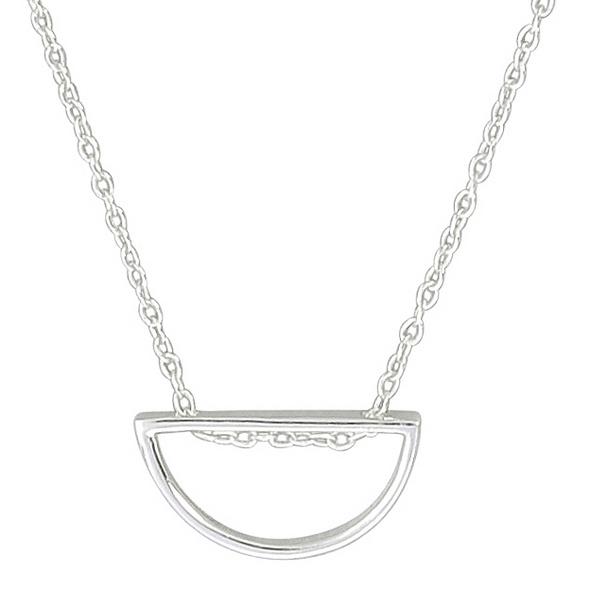 Kette - Silver Semicircle