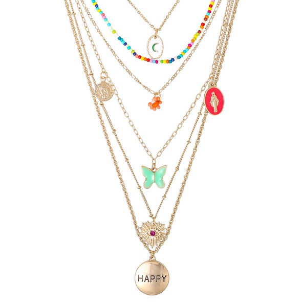 Layering Kette - Happy Moments