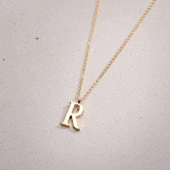 Kette - Golden R