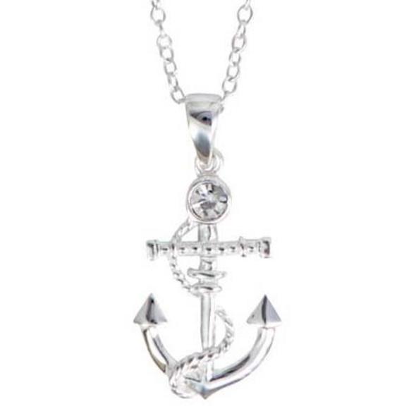 Kette - Shiny Silver Anchor