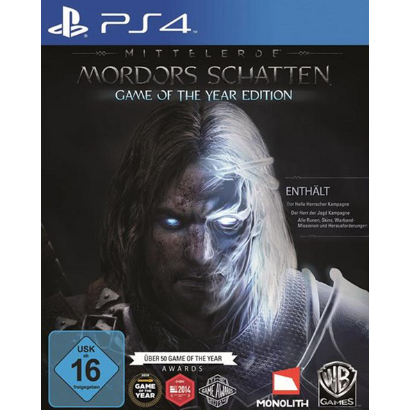 Mittelerde: Mordors Schatten Game of the Year Edition