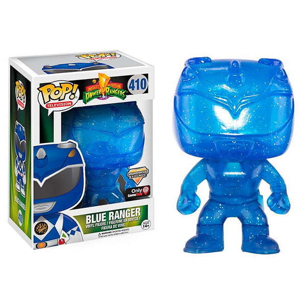 Power Ranger - POP!-Vinyl Figur blauer Ranger