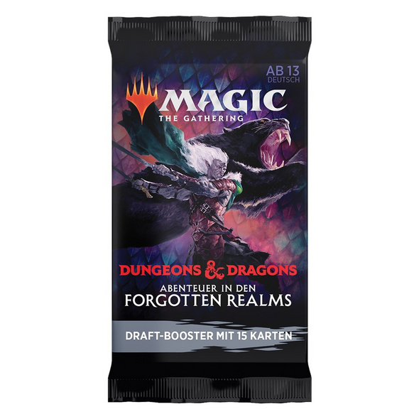 Magic the Gathering: Dungeons & Dragons - Abenteuer in den Forgotten Realms Booster-Pack