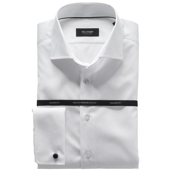OLYMP SIGNATURE Smokinghemd, tailored fit, SIGNATURE Kent