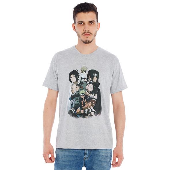 Naruto - Group T-Shirt grau
