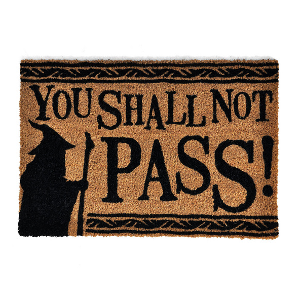 Herr der Ringe - You Shall Not Pass Fußmatte