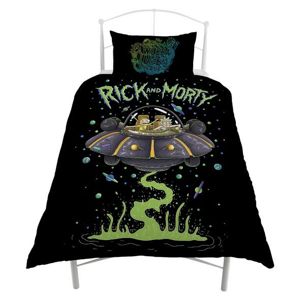 Rick and Morty - Space Cruiser Wende-Bettwäsche