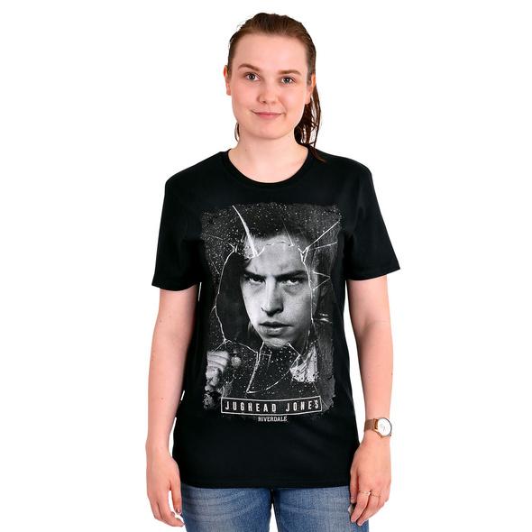 Riverdale - Jughead Jones Broken Glass T-Shirt schwarz