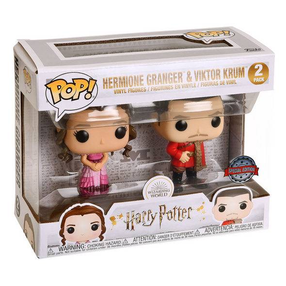 Harry Potter - Hermine & Viktor Yule Ball Funko Pop Figuren