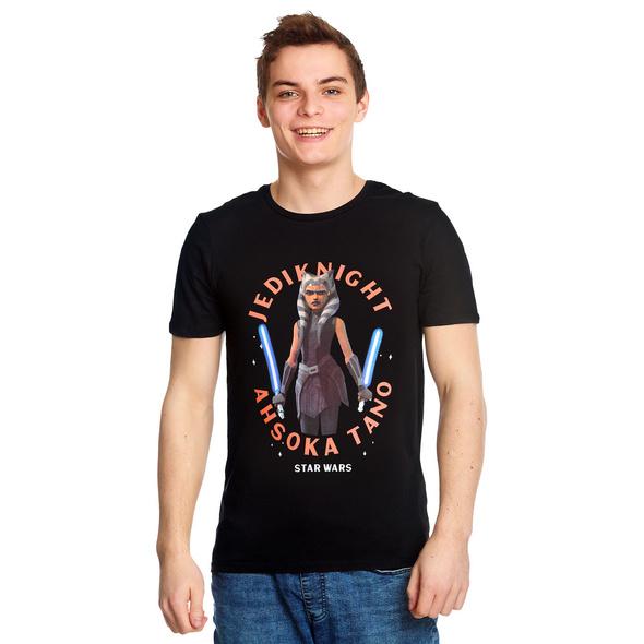 Star Wars - Ahsoka Tano T-Shirt schwarz