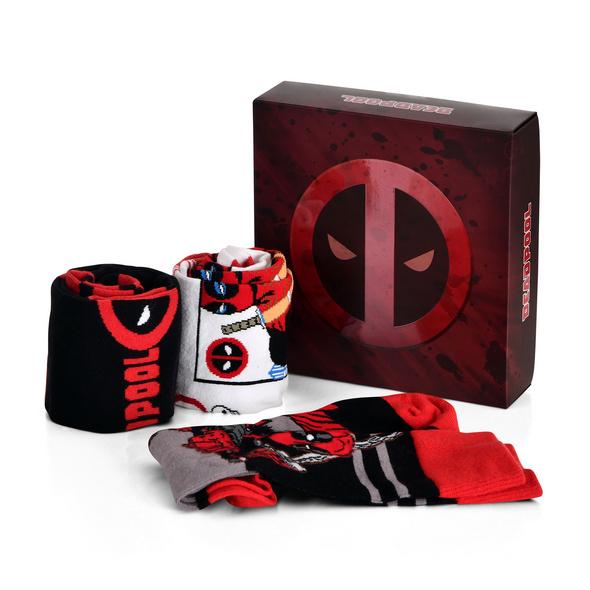 Deadpool Socken 3er Set