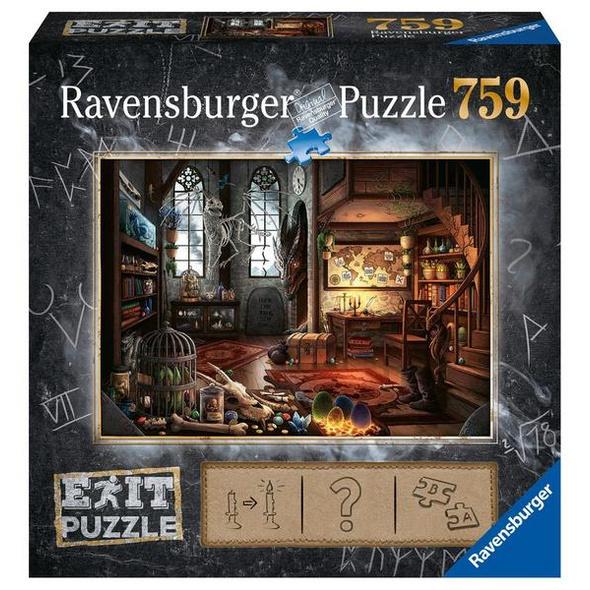 Ravensburger 19954 - Exit 5, Im Drachenlabor, Rätsel-Puzzle,