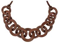 Kette - Wooden Rings